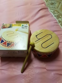 Plan Toys solid wooden musical drum Toronto, M1S 1L5