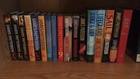 17 James Patterson Novels. PRICE DROP - $15 for all Portage, 46368