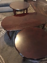 Cherry coffee table end table set  Wilmington