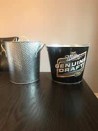 Two ice buckets