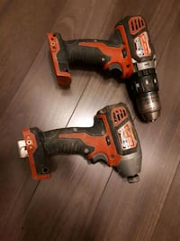 Milwaukee M18 drill - impact sold  Barrie, L4M 2R6