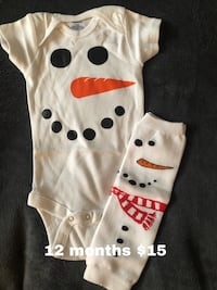 Christmas baby outfit 12 months  Charles Town, 25414