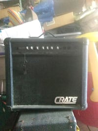 black and gray Crate guitar amplifier Jacksonville, 32257