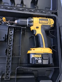 yellow and black Dewalt cordless power drill San Jose, 95112