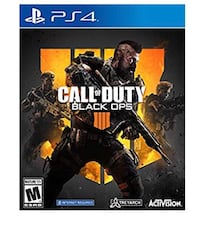 Sony ps4 CALL OF DUTY BLACK OPS Oakland, 94602