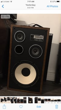 Vintage stereo receiver and speakers Downey, 90242