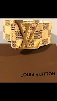White LV with gold buckle  Hartford, 06106
