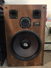 Brown and black subwoofer speaker Halifax, B3N 3H5