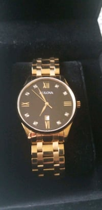 Bulova Gold Watch Welland