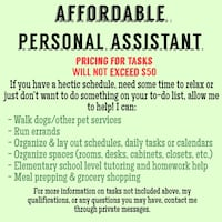 Assistant/Help with Tasks Oklahoma City
