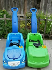 two blue and green ride on toys Santa Maria, 93458