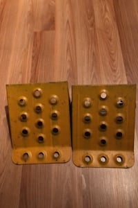 One set of Vehicle and/or Trailer wheel blocks