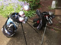 LADIES AND CHILDS GOLF CLUBS