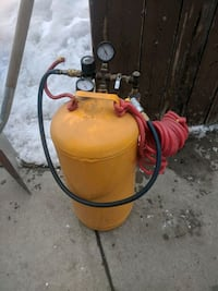 yellow air compressor Calgary, T3J 1H1
