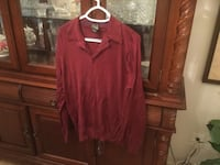 Long sleeve shirt Jos A. Bank 100% Silk Size Medium Centreville, 20120