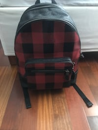 Coach leather backpack Montreal