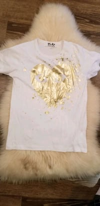 white play comme des Garcons T shirt Mississauga, L5B 3Z9