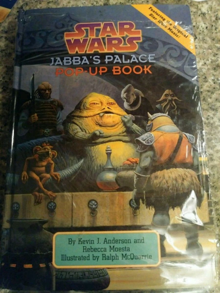 Used, Star Wars Jabba's Palace Pop-Up book for sale  Gulf Breeze