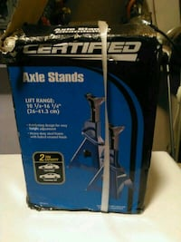 Certified Axle Stands box Vancouver, V6Z 1B3