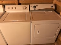 White washer and dryer set Charlotte, 28214