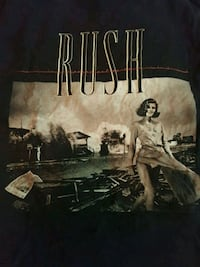 Rush Permanent Waves Band Shirt Size M Arlington, 22204