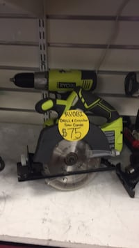 black and gray Ryobi miter saw Temple Hills, 20748