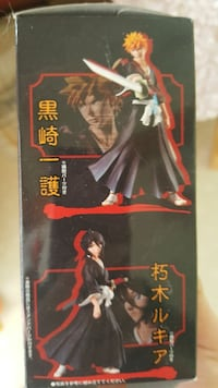2 Bleach action figure.