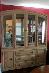 Solid wood two-piece hutch District Heights, 20747