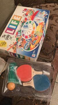 Life board games and racket paddle ball Riverside, 92504