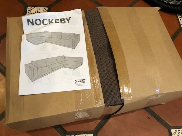 Magnificent Ikea Nockeby Sofa W Chaise Cover Left Teno Brown Cover Only Ibusinesslaw Wood Chair Design Ideas Ibusinesslaworg