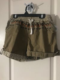 Brown patterned shorts  478 km