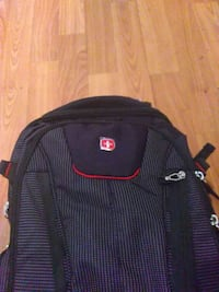 black and red Swiss backpack Union City, 30291