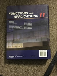 Nelson Functions & applications 11 textbook Mississauga, L4Z