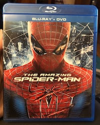 The Amazing Spider-Man Blu-ray and DVD Combo  Little Falls, 07424