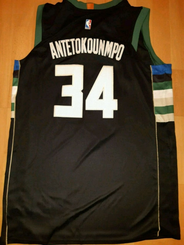 110bcf50c4ca Used Nike Swingman Milwaukee Bucks Giannis Jersey for sale in Oshawa - letgo
