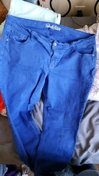 blue denim ankle pants Salt Lake City