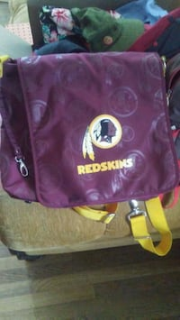 Redskins diaper bag barely used  Falls Church