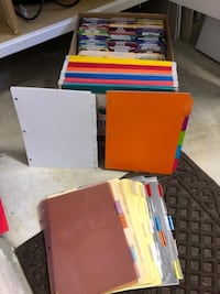ASSORTED OFFICE / ORGANIZATIONAL SUPPLIES - REDUCED TO $8 ARGYLE