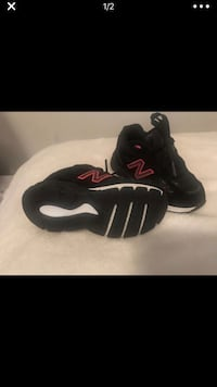 Pair of black nike running shoes New Carrollton, 20784
