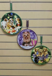 Ceramic Tile Decor Wall Plate/Disk (new) puppy