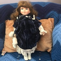 girl doll wearing black dress Rockville, 20853