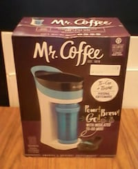 Mr.coffee one cup maker Toledo, 43612