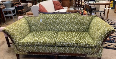 Duncan Phyfe Sofa [$100 if paid in cash]