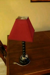 black and red table lamp Mount Airy, 21771