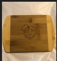 DISNEY World Food&Wine Passholder Mickey Mouse Wooden Cutting Board Bowie, 20715