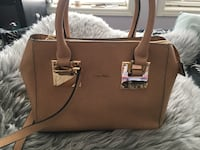 brown leather 2-way handbag Calgary, T2H