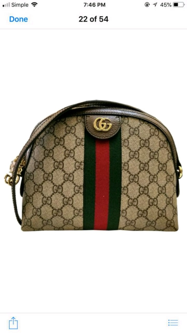 33721375d62c Used brown and green Gucci backpack for sale in Lithonia - letgo