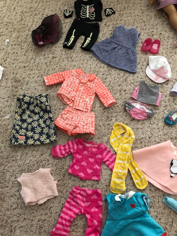 American Girl and My Generation clothes plus lots MORE!!