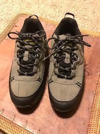 Men's Northwest Territory water proof shoes size 7 1/2.  Located in Park Stockdale. Near the shopping center at California Ave/Stockdale Hwy. Selling for $5.00 worn once. No delivery or trade. Bakersfield, 93309
