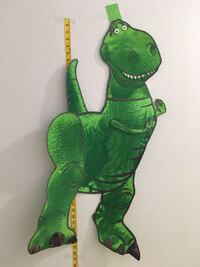 Toy story dino foamy wall decor  McAllen, 78503